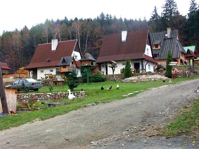 Popularna wieś letniskowa